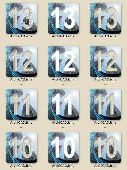ArchiCAD replacement logo matrix