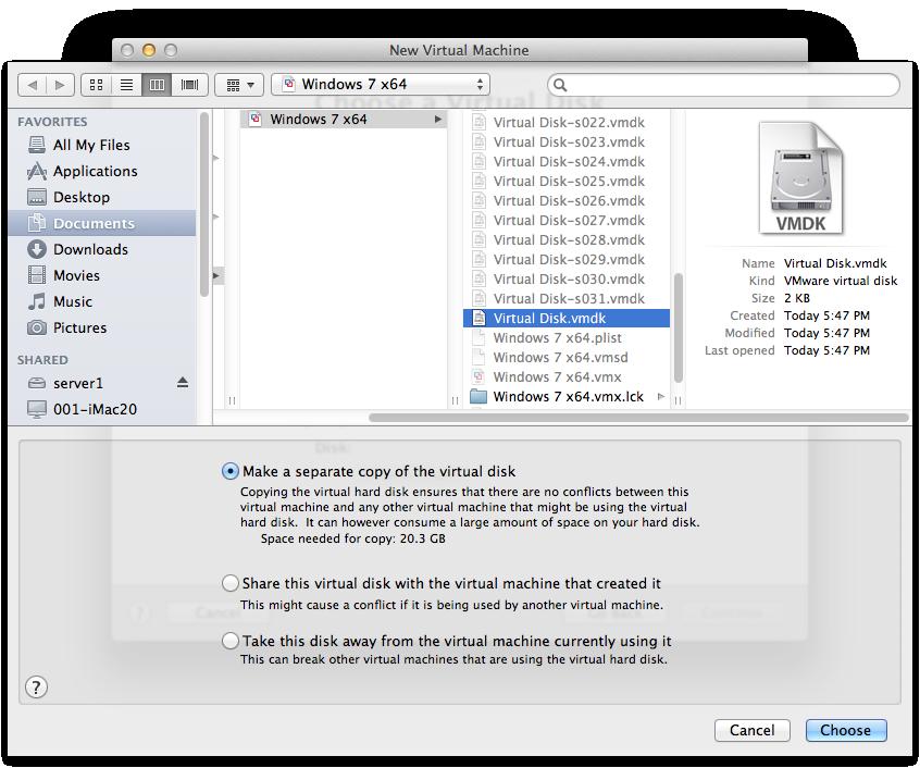 VMware Fusion missing  vmx repair | macinteract